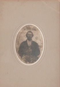 My grandma identified this picture as that of her grandfather George Washburn.