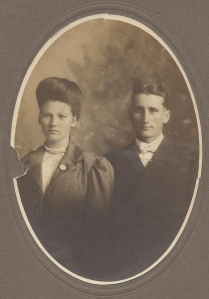 Andy and Janie Stroble, c. 1908